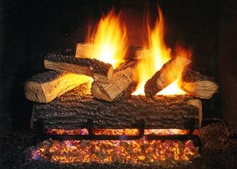 Split Series Gas Log